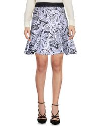Mary Katrantzou - Knee Length Skirt - Lyst