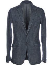 Armani Jeans Suit Jacket - Blue
