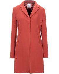 Motel Overcoat - Red