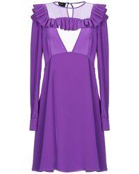 Rochas Robe courte - Violet