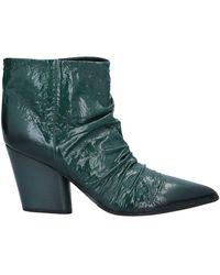 Halmanera Ankle Boots - Green