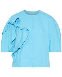 Delpozo Suit Jacket - Blue