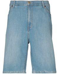 Wrangler Shorts vaqueros - Azul
