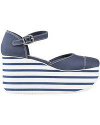 Miu Miu Zapatos de salón - Azul
