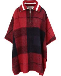 Tommy Hilfiger Capes & Ponchos - Red