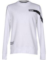 Hood By Air Sweatshirt - White