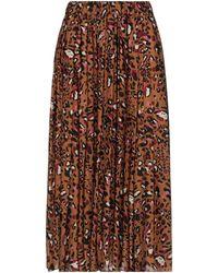Altea Long Skirt - Brown