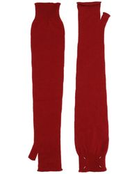 Maison Margiela Handschuhe - Rot