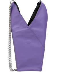 MM6 by Maison Martin Margiela Cross-body Bag - Purple