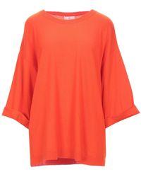 Allude Sweater - Orange