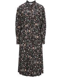 FRAME 3/4 Length Dress - Black