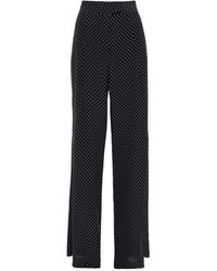 Michelle Mason Casual Trouser - Black