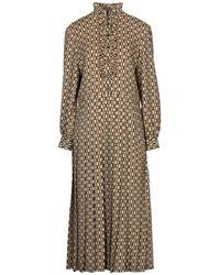 Celine 3/4 Length Dress - Multicolor