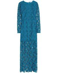Maje Langes Kleid - Blau