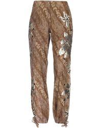 P.A.R.O.S.H. Casual Trouser - Natural