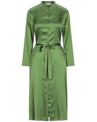 Siyu Vestido por la rodilla - Verde