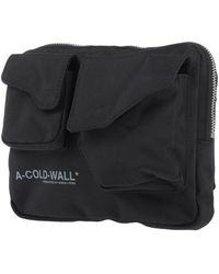 A_COLD_WALL* Backpacks & Fanny Packs - Black