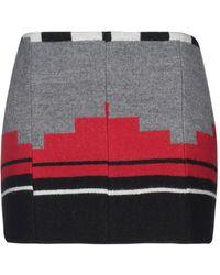 Jessie Western Mini Skirt - Gray