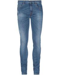 Bikkembergs Denim Pants - Blue