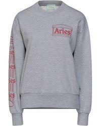 Aries Sweat-shirt - Gris