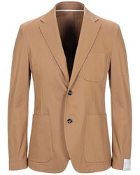 Paolo Pecora Suit Jacket - Brown