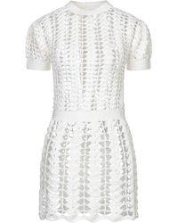 Paco Rabanne Short Dress - White
