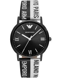 Emporio Armani Armbanduhr - Schwarz