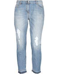 Elisabetta Franchi Pantaloni jeans - Blu