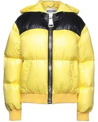 Moschino Down Jacket - Yellow