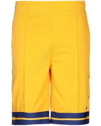 Russell Athletic Shorts & Bermuda Shorts - Yellow