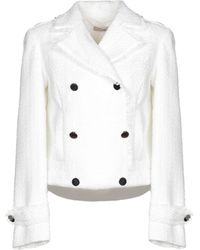 SCEE by TWINSET Suit Jacket - White