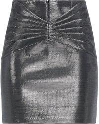 ACTUALEE Midi Skirt - Metallic