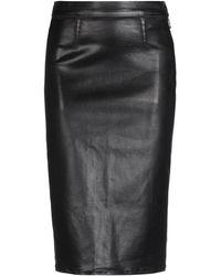 J Brand 3/4 Length Skirt - Black