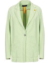 IANUX #THINKCOLORED Suit Jacket - Green