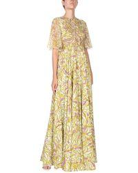Giamba Long Dress - Yellow