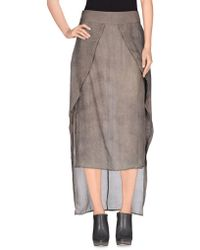 Barbara I Gongini - 3/4 Length Skirt - Lyst