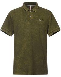 Sun 68 Polo Shirt - Green
