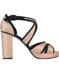 Paola D'arcano Sandals - Black