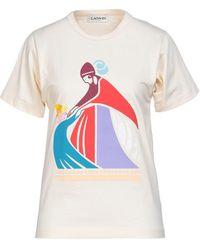 Lanvin T-shirts - Weiß