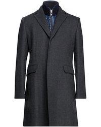 Henry Cotton's Manteau long - Multicolore