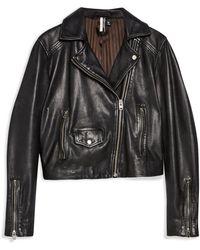 TOPSHOP Jacket - Black