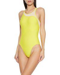 adidas By Stella McCartney One-piece Swimsuit - Yellow