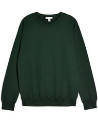 TOPSHOP Sweatshirt - Green