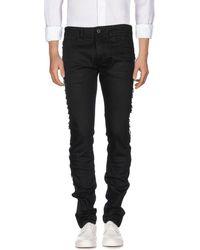 Diesel Black Gold Denim Trousers - Black