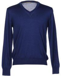 Andrea Fenzi Sweater - Blue