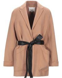 Maje Overcoat - Multicolour