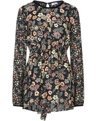 Sfizio Short Dress - Black
