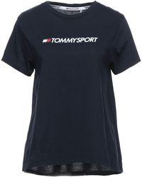 Tommy Sport T-shirts - Blau