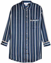 TOPSHOP Camicia da notte - Blu