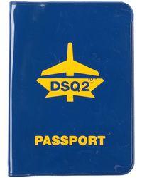 DSquared² Portadocumentos - Azul